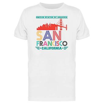 San Francisco Landmark Bridge Tee Men's -Image by Shutterstock