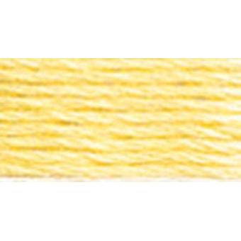 DMC 6-Strand Embroidery Cotton 8.7yd-Very Light Golden Yellow