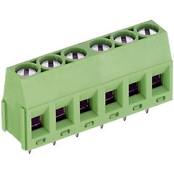 PTR AK350/8-5.0-V Screw terminal 1.50 mm² Number of pins 8 Green 1 pc(s)