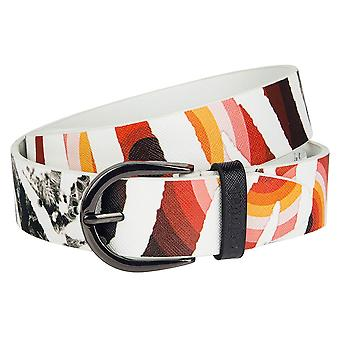 Cinturón de mujer desigual CINT BASIC SAFFIANO SALVAJE 61R56M1/2000