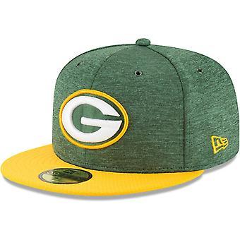 Nieuwe era 59Fifty Cap - zijlijn huis Green Bay Packers