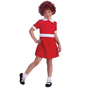 De Musical Annie Broadway beetje Orphan dans Drama boek Week meisjes kostuum