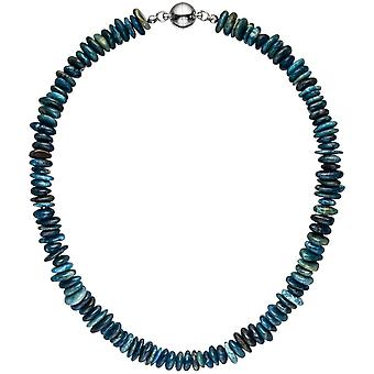 Necklace chain apatite 45 cm apatite necklace chain gemstone necklace
