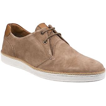 Gabicci Mens Curtis Bellows Tongue Derby Suede Lace Up Shoes