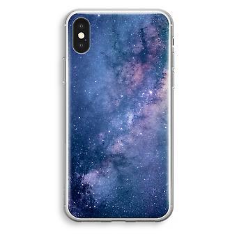 iPhone przypadku przezroczysty XS (Soft) - mgławica