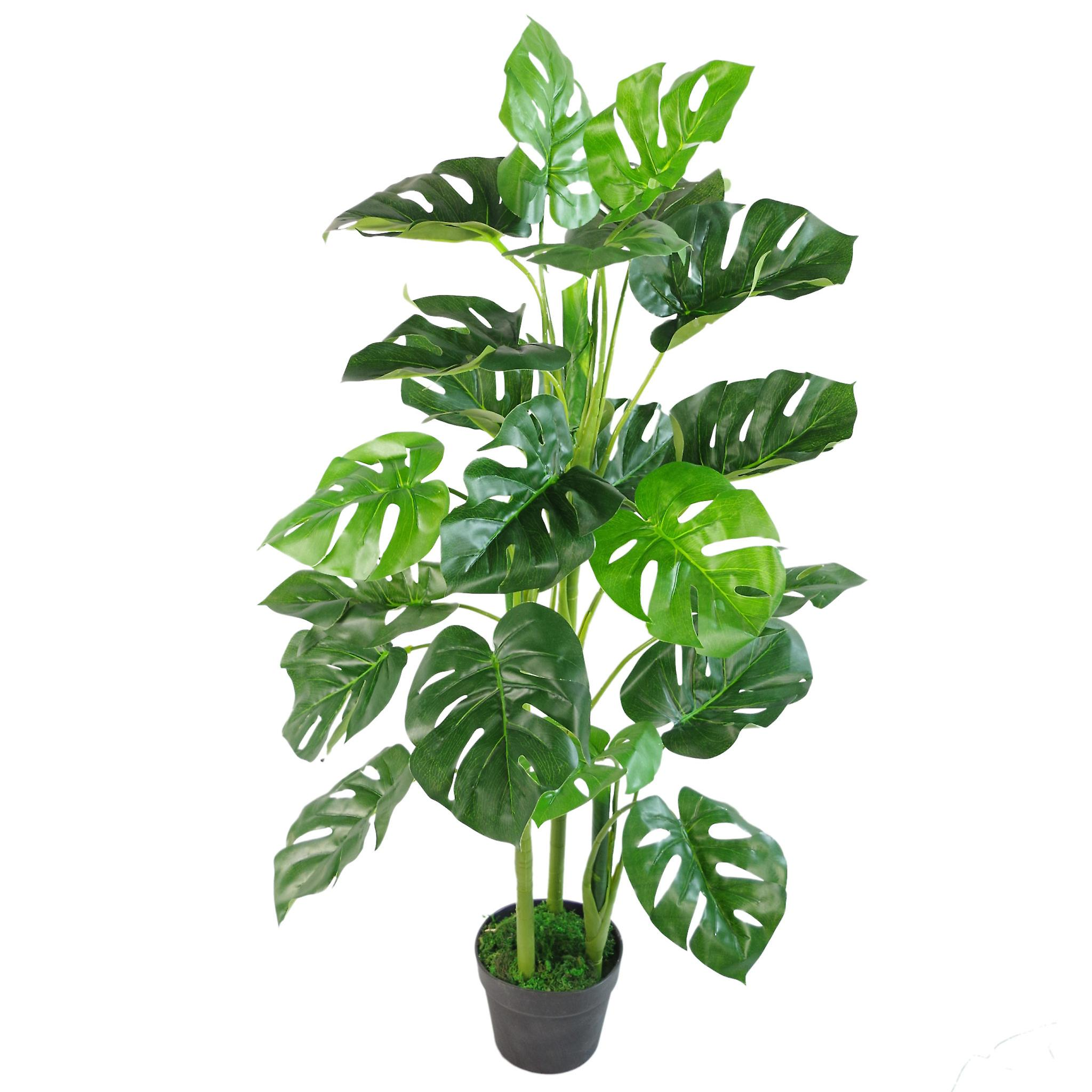 Artificial Monstera Plant - 45cm Monstera