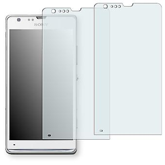 Sony Xperia SP LTE display protector - Golebo crystal clear protection film