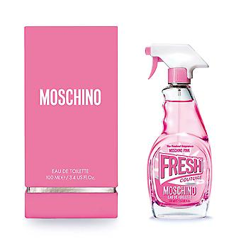 Moschino Pink Fresh Couture Perfume 100 ml Eau De Toilette Spray