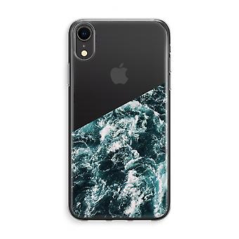 iPhone XR Transparant Case (Soft) - Ocean Wave
