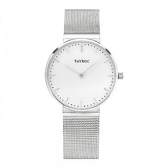 Tayroc Ty144 Ryde Silver & White Stainless Steel Men's Watch