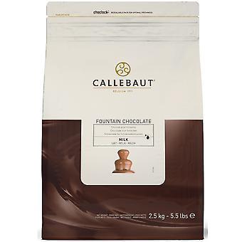 Callebaut-Vollmilchschokolade für Brunnen
