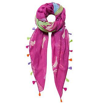 Desigual women scarf pashmina shawl foul brushes 19SAWF35/3017