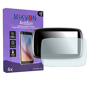 TomTom Go 5100 World Screen Protector - Mikvon AntiSun (Retail Package with accessories)