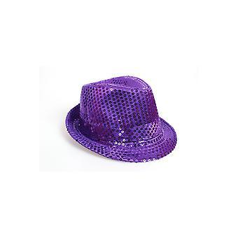 Hats  Glitter hat purple