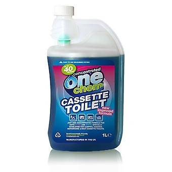 One Chem Portable Cassette Toilet Treatment 1L