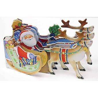 Traîneau du père Noël par Annie Auerbach - livre 9781438050003