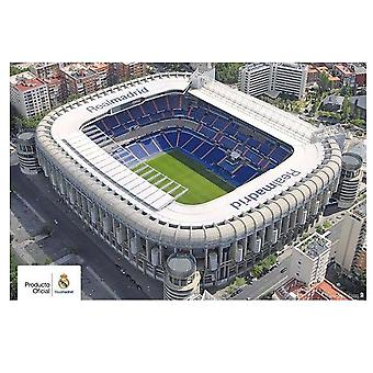 Real Madrid CF Stadium Poster