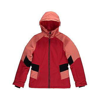 Oneill Hibiscus Red Solo Girls Snowboarding Jacket