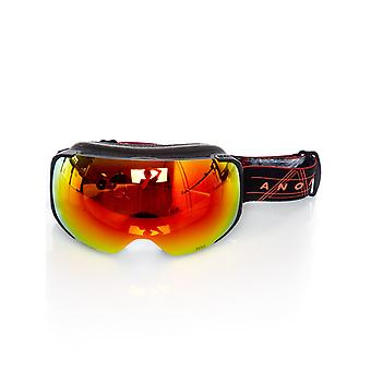Anon Redplanet-Sonar Red 2018 M2 - With MFI Facemask Snowboarding Goggles