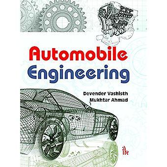 Automobile Engineering by Devendra Vashist - 9789384588649 Book