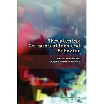 Ameaçando as comunicações e comportamento: perspectivas na busca de figuras públicas