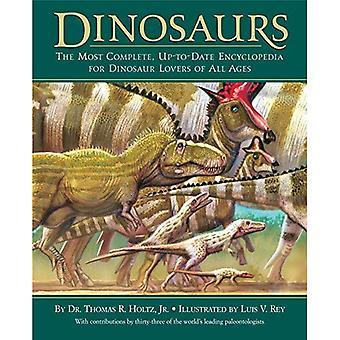 Dinosaures: L'encyclopédie plus complète et à jour pour dinosaure Lov