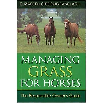 Managing Grass for Horses: The Responsible Owner's Guide