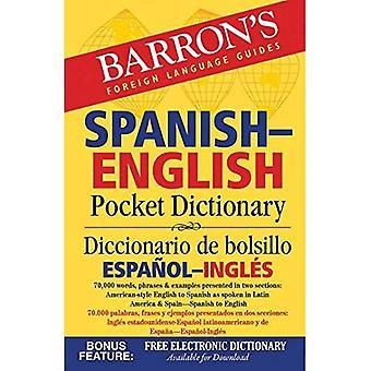 Barrons spanska-engelska Pocket Dictionary: 70.000 ord, fraser & exempel presenteras i två sektioner: Amerikan...