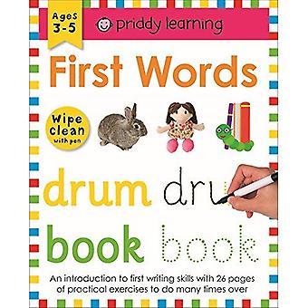Första orden (torka ren arbetsböcker)