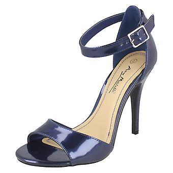 Ladies Anne Michelle High Heel Strappy Sandals L3424