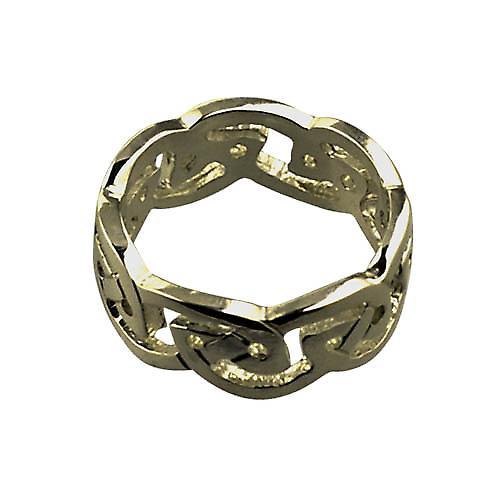 9ct Gold 8mm ladies Celtic Wedding ring