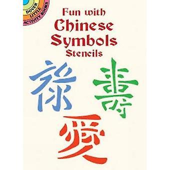 Diversão com símbolos chineses Stencils por Marty Noble