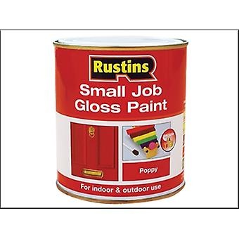 Rustins Small Job Paint Gloss Pearl Grey 250ml