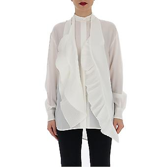 Givenchy White Silk Blouse