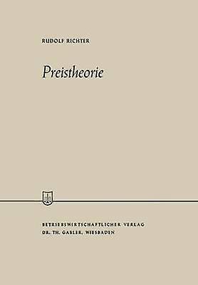 Preistheorie by Richter & Rudolf