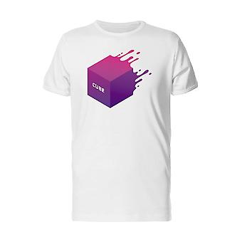 Waterpainted 3D With Word Cube Tee Men's -Image by Shutterstock