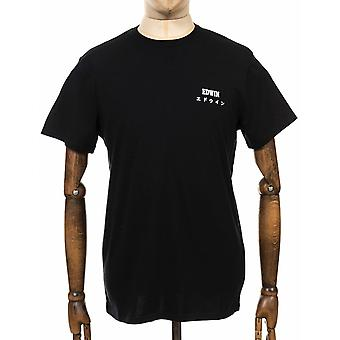Edwin Jeans Chest Logo Tee - Black