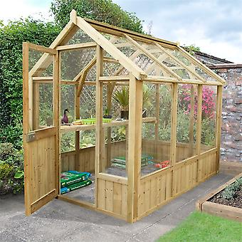 Forest Garden Vale 8x6 Wooden Greenhouse