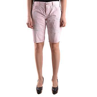 Reign Pink Cotton Shorts