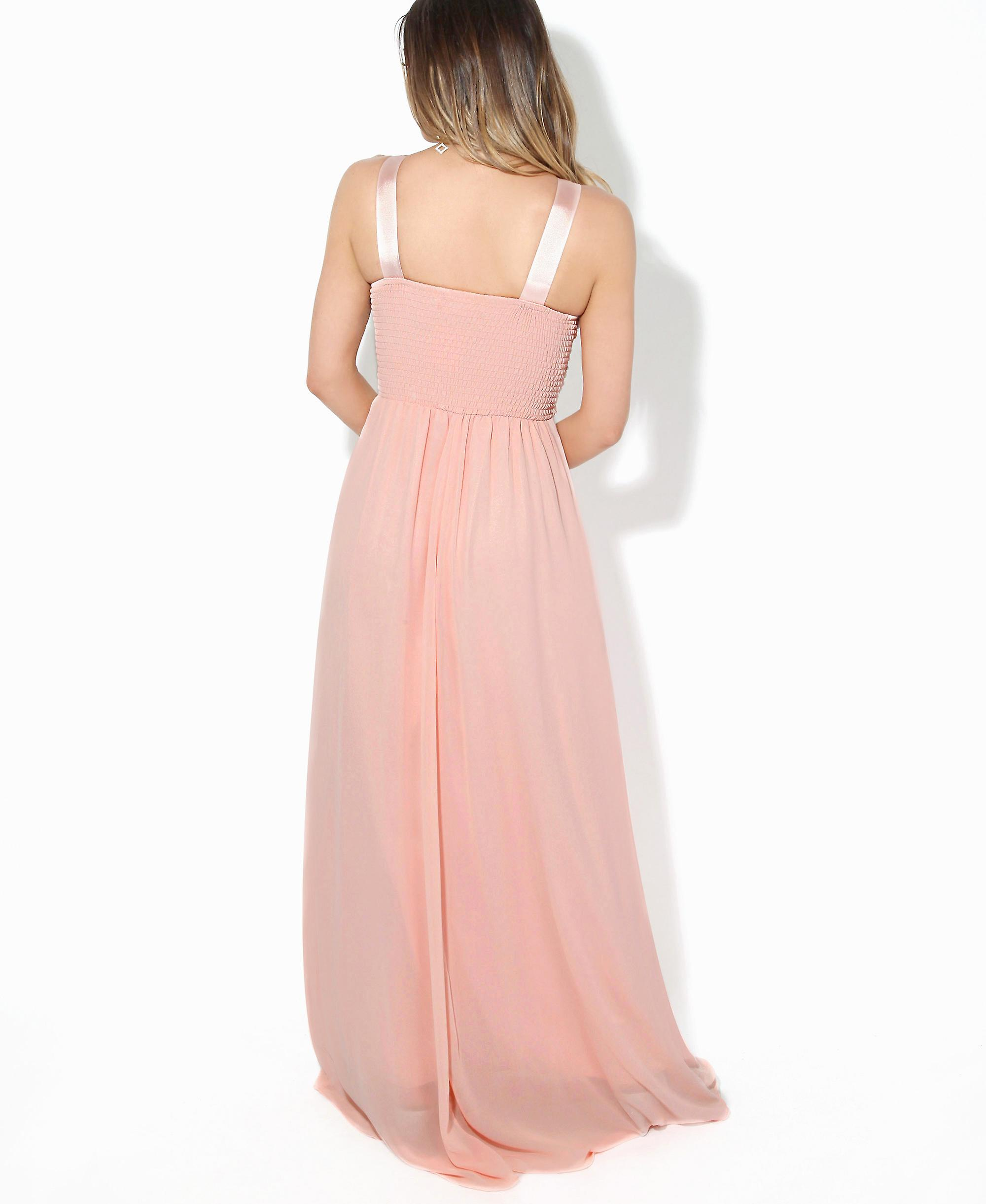 7c4b2f98 KRISP Women Formal Diamante Wedding Cocktail Long Ball Gown Prom Maxi Dress  Party 8-18