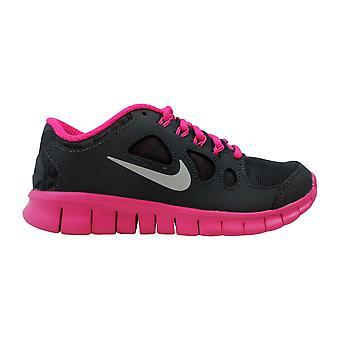Nike Free 5,0 bouclier foncé anthracite/métallisé argent-rose feuille 616698-001 grade-école