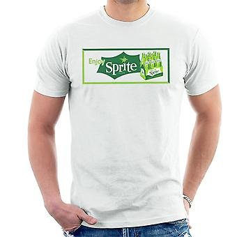 Enjoy Sprite Vintage Crate Logo Men's T-Shirt