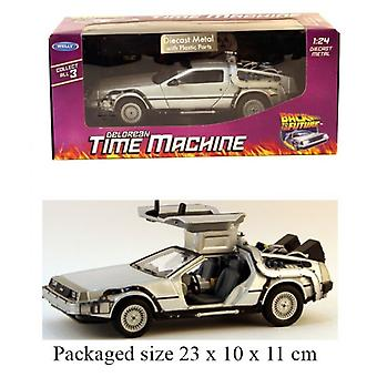 Diecast 1:24 Back To The Future Time Machine