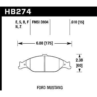 Hawk performance HB274Z. 610 PC