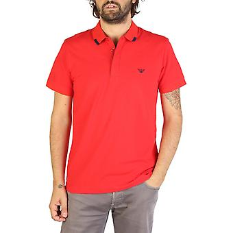 Emporio Armani Men Red Polo -- 9P46861104