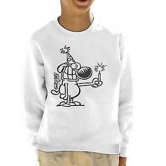 Grimmy Birthday Banger Kid's Sweatshirt