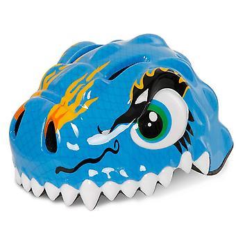 Snappy â de brutale blauwe Dino-veiligheidshelm