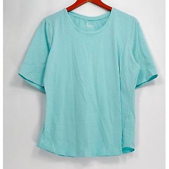 Denim & Co. Top Essentials Green A302899