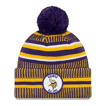 New Era Sideline Bommel Kinder Youth Mütze Minnesota Vikings