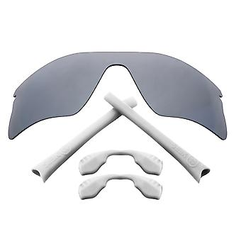 Replacement Lenses Accessories Compatible with OAKLEY RADAR RANGE Silver & White